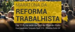 Maratona sobre a Reforma Trabalhista OAB/AASP