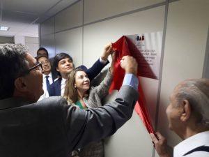 Sala de conferência e palestras da AASP é inaugurada no CEATE