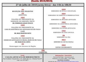 20ª Conferência Regional da Advocacia em Ribeirão Preto