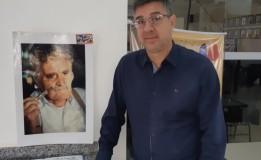 Artista Plástico, morador do Lar Padre Euclides, expõe na OAB